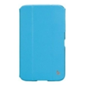 Jisoncase Classic Smart Case for Galaxy Tab 3 7.0 Blue JS-S21-03H40