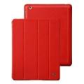 Чехлы и защитные пленки для планшетовJisoncase Vintage Smart Case for iPad 2/3/4 Red JS-IPD-06A30