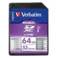 Карты памятиVerbatim 64 GB SDXC class 10 (44024)
