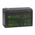Аккумуляторы для ИБПB.B. Battery BC7-12