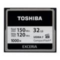 Карты памятиToshiba 32 GB Compact Flash 1000X (CF-032GTGI(8)
