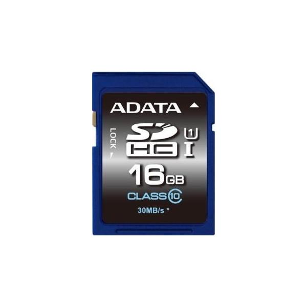A-data 16 GB SDHC UHS-I Premier ASDH16GUICL10-R