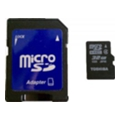 Toshiba 32 GB microSDHC class 4 + SD adapter