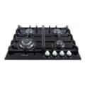 Кухонные плиты и варочные поверхностиFabiano FHG 10-44 GH-T Black Glass