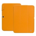 Jisoncase Classic Smart Case for Galaxy Tab 3 10.1 Orange JS-S52-03H80