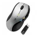Клавиатуры, мыши, комплектыLogitech MX 610 Laser Cordless Mouse Silver-Black