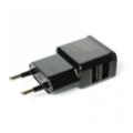 Зарядные устройства для мобильных телефонов и планшетовDrobak Сетевое зарядное устройство Dual USB 220 В Black (905308)