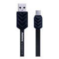 Аксессуары для планшетовREMAX Fishbone microUSB Cable 1m Black