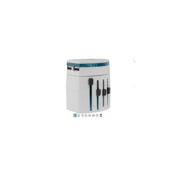 Defender EPC-21, 2 port USB universal adapter (29701)
