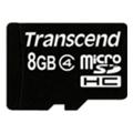 Карты памятиTranscend 8 GB microSDHC class 4 + SD Adapter TS8GUSDHC4