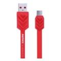 Аксессуары для планшетовREMAX Fishbone microUSB Cable 1m Red