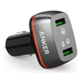 Anker PowerDrive+ 2 V3 Quick Charge, Black (A2224H11)