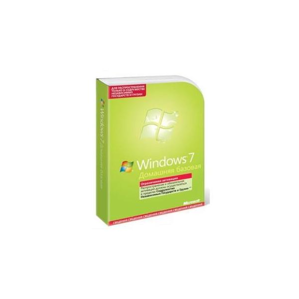 Microsoft Windows 7 Home Basic Russian (F2C-00545)