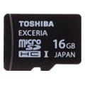 Карты памятиToshiba 16 GB EXCERIA Type HD microSDHC UHS-I SD-CX16HD