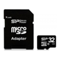 Silicon Power 32 GB microSDHC Class 10 + SD adapter