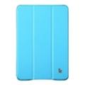 Jisoncase Classic Smart Cover for iPad mini with Retina Blue JS-IM2-01H40