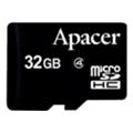 Карты памятиApacer 32 GB microSDHC Class 4 AP32GMCSH4-RA