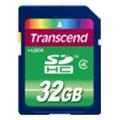 Карты памятиTranscend 32 GB SDHC Class 4 TS32GSDHC4