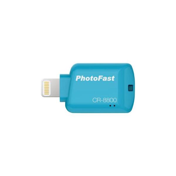 PhotoFast iOS Card Reader CR8800 Blue