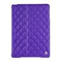 Чехлы и защитные пленки для планшетовJisoncase Quilted Leather Smart Case for iPad Air Purple JS-ID5-02H50