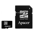 Карты памятиApacer 16 GB microSDHC Class 10 UHS-I + SD adapter AP16GMCSH10U1-R