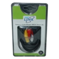 Аудио- и видео кабелиEasyLink 3RCA-3RCA 2м