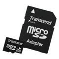 Карты памятиTranscend 2 GB microSD + SD adapter TS2GUSD