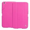 Чехлы и защитные пленки для планшетовJisoncase Classic Smart Case for Galaxy Tab 3 8.0 Rose JS-S31-03H33