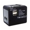 Зарядные устройства для мобильных телефонов и планшетовMobiKing Международный адаптер 220В SP-118U2 + 2USB 1A (30331)