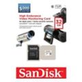 Карты памятиSanDisk 32 GB microSDHC High Endurance Video Monitoring Class 10 + SD adapter SDSDQQ-032G-G46A