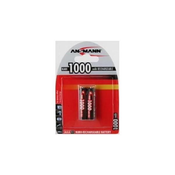 Ansmann AAA 1000mAh NiMh 2шт Global Line (R035012)