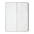 Чехлы и защитные пленки для планшетовDublon Leatherworks Ironhide для ASUS Transformer TF201/TF300/TF700 White (360903)