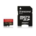 Карты памятиTranscend 16 GB microSDHC class 10 UHS-I Ultimate + SD Adapter TS16GUSDHC10U1