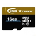 Карты памяти TEAM 16 GB microSDHC UHS-I + SD Adapter TUSDH16GU9003