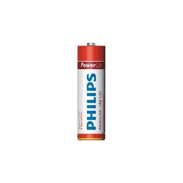 Philips AA bat Alkaline 4шт PowerLife (LR6P4B/97)