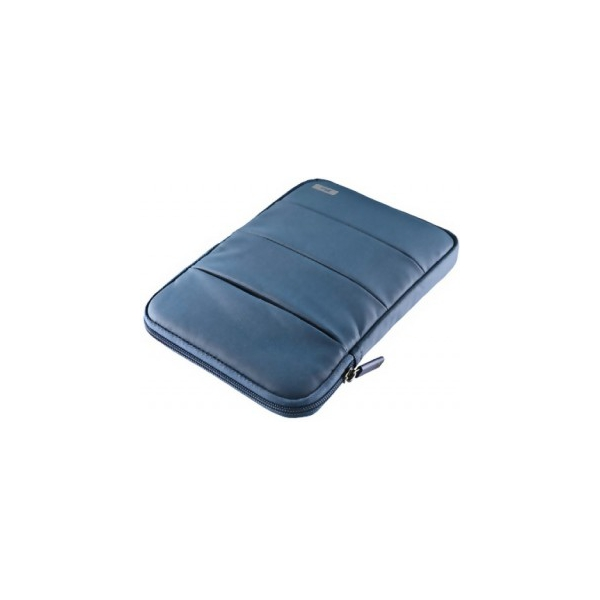 "Trust 7"" Nylon Anti-shock Bubble Sleeve for tablets Blue (18919)"