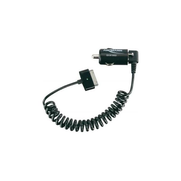 Ansmann USB Car Charger 2.1A + Apple cable (1000-0002)