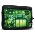 Чехлы и защитные пленки для планшетовCanyon Sleeve Case X-Ray для iPad 2/iPad черный с зеленым (CNL-NB10IX)