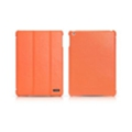 Чехлы и защитные пленки для планшетовi-Carer Чехол Ultra-thin Genuine leather for iPad Air Orange RID501OR