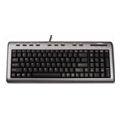 Клавиатуры, мыши, комплекты Labtec Ultra-Flat Keyboard Black USB+PS/2
