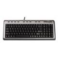 Клавиатуры, мыши, комплектыLabtec Ultra-Flat Keyboard Black USB+PS/2