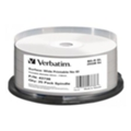 Verbatim BD-R Printable 25GB 6x Cake Box 25шт (43738)