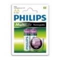 Аккумуляторы, батарейки Philips AA 2000mAh NiMh 2шт MultiLife Ready to Use (R06B2RTU20/97)