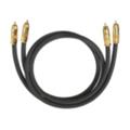 Аудио- и видео кабелиOehlbach Master Set NF 214 2x0.7 м Anthrazit (2046)