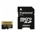 Карты памятиTranscend 32 GB microSDHC UHS-I U3 Ultimate + SD Adapter TS32GUSDU3
