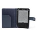 Чехлы для электронных книгCaseCrown Кожаная обложка для Kindle 3 голубая