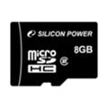 Карты памятиSilicon Power 8 GB microSDHC Class 2