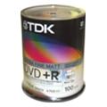 Диски CD, DVD, Blu-rayTDK DVD+R Printable 4,7GB 16x Cake Box 100шт