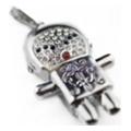 USB flash-накопителиiCrystal 4 GB LittleMan silver