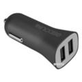 Зарядные устройства для мобильных телефонов и планшетовIncase High Speed Dual Car Charger Black (CL90039)